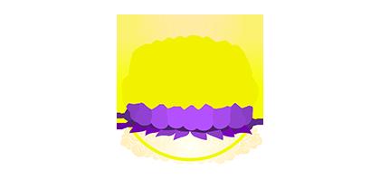 Dharma Dourado Logotipo